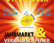 Herbstjahrmarkt und Verkaufsoffener Sonntag am 30.09. & 01.10.2017