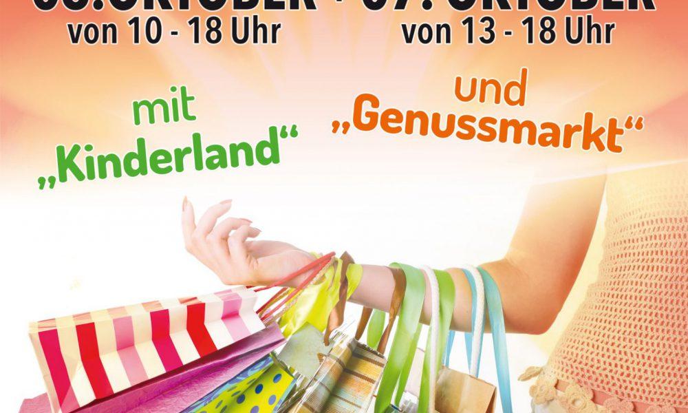 Verkaufsoffener Sonntag mit Herbstmarkt, Genussmarkt und Kinderland am 06./07.10.2018 in Malsch