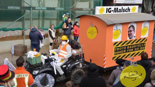 Bildergalerie vom Faschingsumzug in Malsch am 29.01.2017