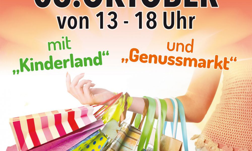 Verkaufsoffener Sonntag mit Kinderland, Genuss-, und Jahrmarkt am 06. Oktober 2019 in Malsch