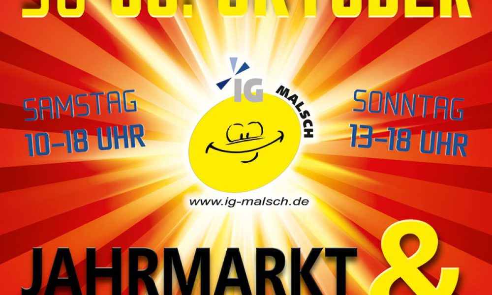Herbstjahrmarkt und Verkaufsoffener Sonntag am 05.+06. Oktober 2013