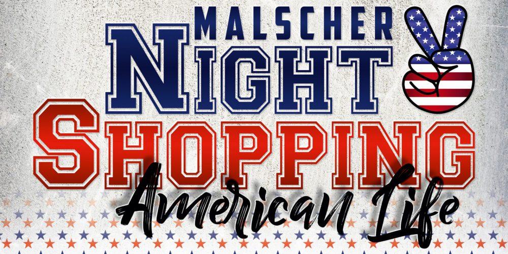 Nachtflohmarkt zum Night-Shopping in Malsch am 08.06.2018