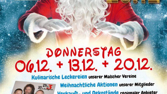Malscher Weihnachtsmärkte im Dezember 2018