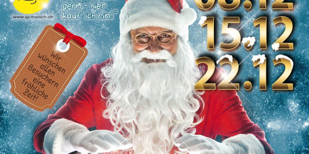 Malscher Weihnachtsmärkte im Dezember 2016